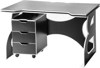 Геймерский стол с тумбой Barsky Game HG-06/СUP-06/ПК-01 Red от Rozetka
