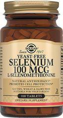Solgar Selenium, Yeast-Free, 100 mcg, 100 Tabs Селен, бездрожжевой от Stylus
