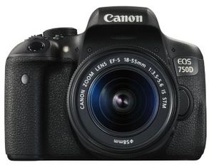 Canon Eos 750D Kit (18-55mm) Is Stm от Stylus