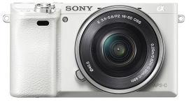 Акция на Фотоаппарат Sony Alpha 6000 kit 16-50mm White (ILCE6000LW.CEC) от Rozetka
