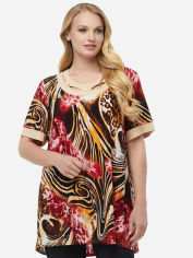 Блузка All Posa Марго 100133 66 Бордовая (Тигр) от Rozetka