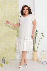 Платье ALDEM 2001/1 50 Белое (2000000419541) от Rozetka