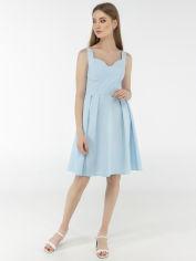 Платье Vivari 1013 48 Голубое (2000000405346) от Rozetka
