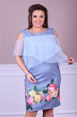 Платье ALDEM 1827 56 Джинсовое (2000000423326_ELF) от Rozetka