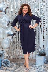 Платье ALDEM 1940 52 Темно-синее (2000000442839_ELF) от Rozetka
