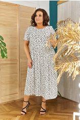 """Платье ALDEM 2005/1 54 Белое принт """"цветы"""" (2000000442051_ELF) от Rozetka"""