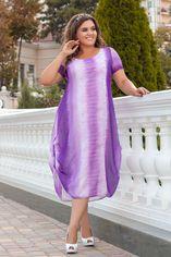 Платье ALDEM 1922/2 54 Белое/Фиолетовое (2000000443577_ELF) от Rozetka