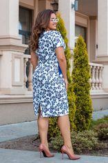"""Платье ALDEM 1910/1 52 Электрик принт """"цветы"""" (2000000422992_ELF) от Rozetka"""