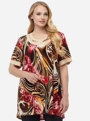 Блузка All Posa Марго 100133 56 Бордовая (Тигр) от Rozetka