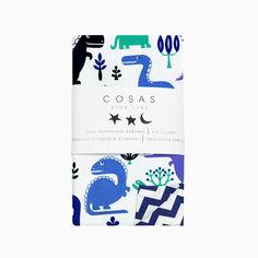 Акция на Детский пододеяльник Cosas Дино зигзаг синий 225 пододеяльник 110х140 см от Podushka
