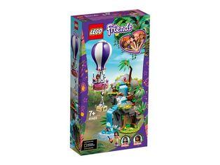 Акция на Конструктор LEGO Friends Спасение тигра из джунглей на воздушном шаре (41423) от MOYO