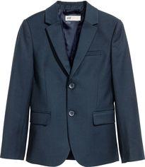 Пиджак H&M 3608596 170 см Темно-синий (hm01582212994) от Rozetka