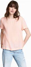 Блузка H&M 3hm06110104 38 Светло-розовая (2000000388533) от Rozetka