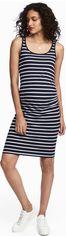 Платье H&M 3hm05300029 L Темно-синее (2000000392745) от Rozetka