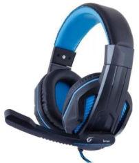 Акция на Наушники Gemix W-360 Black-Blue от Rozetka