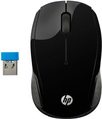 Мышь HP 200 Wireless Black (X6W31AA) от Rozetka