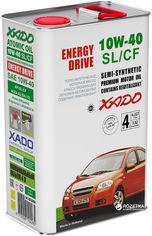 Моторное масло XADO Atomic Oil SL/CF 10W-40 4 л (XA 20244) от Rozetka