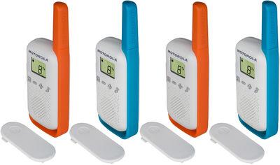 Рация Motorola Talkabout T42 Quad Pack (B4P00811MDKMAQ) от Rozetka