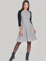 Платье Le Bourdon 204FM/MAD-237/TR-268 50UA Серое с черным (NB2000001109250) от Rozetka