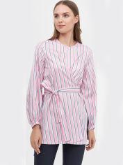Блузка Natali Bolgar 19087/KAS-199 36 Розовая с разноцветным (NB2000001036365) от Rozetka