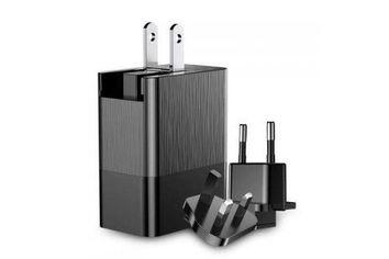 Сетевое зарядное устройство Baseus Duke Universal Travel на 3 USB 3.4A (EU+UK+US), black от MOYO