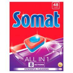Акция на Таблетки для посудомоечной машины Somat All in one 48 таблеток 9000101347975 от Podushka