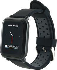 Смарт-часы Canyon Sanchal Black (CNS-SW73BB) от Rozetka