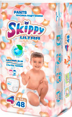 Акция на Трусики-подгузники детские Skippy Ultra размер 4 (9-14 кг) 48 шт (6942648910317) от Rozetka