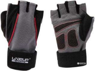Перчатки LiveUp Training Gloves LS3071-LXL Black-Grey-Red от Rozetka