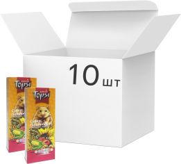 Упаковка корма для грызунов Topsi Супер палочки 100 г 10 шт (14820122203638) от Rozetka