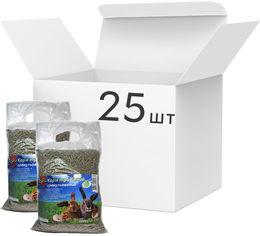 Упаковка корма для грызунов Topsi Травяной гранулированный 1 кг 25 шт (14823089900282) от Rozetka