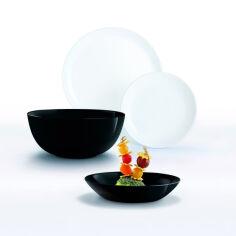 Сервиз столовый Luminarc Diwali Black & White 19 предметов P4360 от Podushka