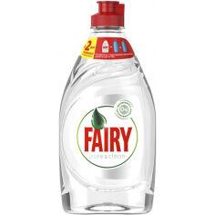 Акция на Средство для мытья посуды Fairy Pure & Clean 450 мл 8001090837424 от Podushka