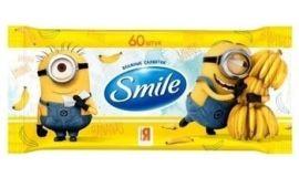 Влажные салфетки Smile Миньоны, 60 шт. от Pampik