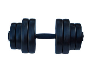 Акция на Гантель RN-Sport композитная 16 кг от Rozetka