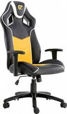 Кресло для геймеров GT RACER X-2560 Black/White/Yellow от Rozetka