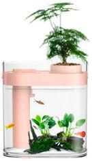 Аквариум Xiaomi HFJH Amphibian ECO-Aquarium Aquaponics Youth Edition Pink (2001000073481) от Rozetka