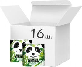 Упаковка туалетной бумаги Снежная Панда Классик 150 отрывов 2 слоя 16 пачек по 4 рулона (4823019007626) от Rozetka