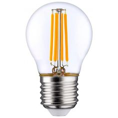 Лампа светодиодная OSRAM LED STAR E27 5-60W 2700K 220V P45 FILAMENT от MOYO
