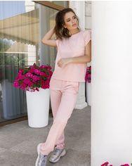 Спортивные костюмы ISSA PLUS 11940  XL розовый от Issaplus