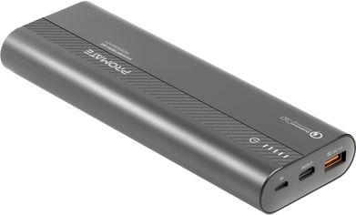 УМБ Promate PowerTank-20 20000 mAh Grey (powertank-20.grey) от Rozetka