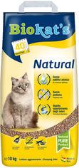 Наполнитель туалетов для кошек Biokat's Natural New 10 кг (4002064617275) от Rozetka