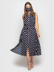 Акция на Платье Santali 4121 XL Синее (7000000072321) от Rozetka