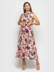 Платье Santali 4121-1 L Розовое (7000000072253) от Rozetka