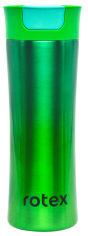 Акция на Термокружка Rotex Green 450 мл (RCTB-312/3-450) от Rozetka