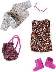 Акция на Набор одежды для куклы Lori Платье с цветами (LO30021Z) от Rozetka