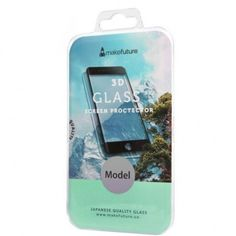 Стекло MakeFuture для Galaxy S8 G950 Black 3D от MOYO