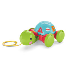 Каталка на веревке Обучающая черепашка Fisher-Price (Y8652) от Будинок іграшок