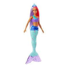Кукла Barbie Русалка с Дримтопии с сиренево красными волосами (GJK07/GJK09) от Будинок іграшок