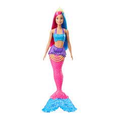 Кукла Barbie Русалка с Дримтопии с малиново-голубыми волосами (GJK07/GJK08) от Будинок іграшок